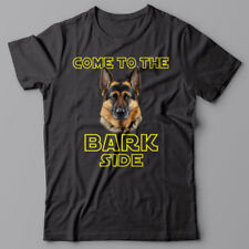 GERMAN SHEPHERD dog T-shirt COME TO THE BARK SIDE - dark side we have cookies