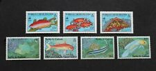 TURKS & CAICOS ISLANDS - SCARCE EARLY FISHES TWO DIFF P/SETS UNUSED MNH RR