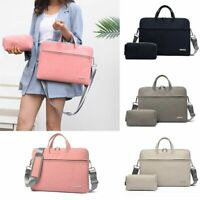 Women Laptop Bag Notebook Carrying Briefcase For Macbook Air 13.3 14 15.6 Inches