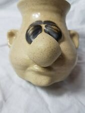 Egg Separater Mr. Sniffles It'Snot-A-Mug Stoneware Peter Petrie Original Signed