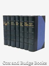 FREDERIC MISTRAL Provencal poet 7 vols, fine leather 1920s Mireille Les Olivades