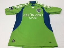 Adidas Climacool Seattle Sounders FC Team Xbox 360 Mens Small MLS Soccer Shirt