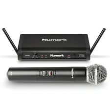 Numark WS-100 Handheld 24-bit Digital Wireless Microphone System with Carry Case