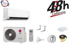 LG Standard Klimaanlage Inverter Split Set S12EQ, (P12EN) 3,5 kW mit Montageset