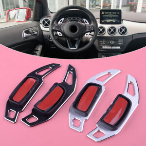 2x Steering Wheel Shift Paddle Shifter Trim Cover Fit for Mercedes-Benz A B C E