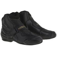 Alpinestars Stella SMX-1 R Motorcycle Boots - Black / Gold