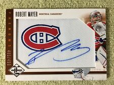 2012-13 Limited ROBERT MAYER Rookie RC Autograph Jersey #d/499 Canadiens