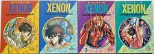 Heavy Metal Warrior XENON ~ Complete rare lot 4 books 1 2 3 4 Masaomi Kanzaki