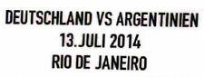 FIFA 2014 World Cup WM 2014 Matchdetails Patch vs Argentinien neu