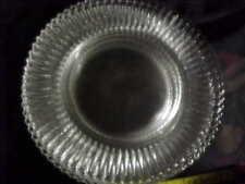 BEAUTIFUL ELEGANT GLASS 10 IN DINNER PLATES,FOSTORIA, CAMBRIDGE, GROUND ,7 avai