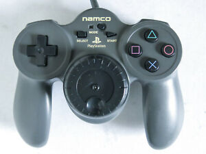 Namco Jogcon NPC-105 Racing Controller Playstation PS1 Tested Working