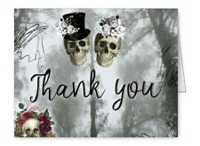 Halloween Thank You Cards Folded Thank You Notes Set of 75