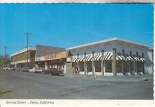 Davis CA 2nd Street Yolo CO near Dixon Sacramento Woodland 60's Continental PC
