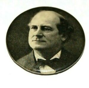 1900 WILLIAM JENNINGS BRYAN 1.25 campaign pin pinback button political president