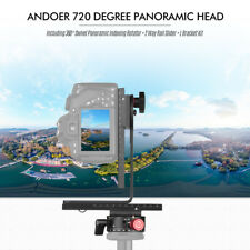 720° PANORAMIC HEAD GIMBAL TRIPOD BALL HEAD FOR CANON NIKON DSLR CAMERA LOAD 3KG