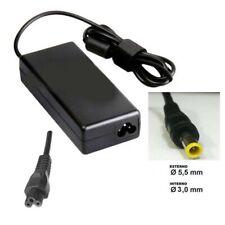 Alimentatore carica-batteria x SAMSUNG 19V  con spinotto 5.5x3,0 mm.