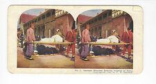 Ingersoll Stereoviews: Port Arthur#1 Japanese Wounded Entering Hospital at Dalny