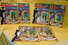 """Two Dick Tracy Gangster Figures, Al """" Big Boy"""" Caprice & The Tramp, unopened."""