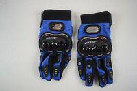 ProBiker Summer Motorcycle Gloves Full Finger Breathable Racing Gloves. Sm/Me
