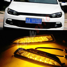 1pair LED Daytime Running Lights DRL Fog/Driving Light For 2011-2015 VW Scirocco