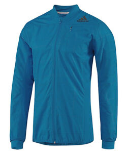 Running Jacket (Wind Jacket Adidas Smarter Jacket M, Men's, Blue, Climaproof