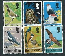 SEYCHELLES SG308/13 1972 BIRDS MNH
