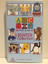 ABC FOR KIDS ~ BUMPER COLLECTION ~ RARE VHS VIDEO ~ 85 MINS OF FUN ~ FREE POST