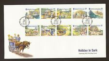 2002 Guernsey, Holidays on Sark, First Day Cover