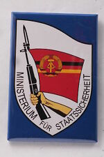 """East German Germany Stasi Ministry State Security 2""""x3"""" Made in USA KGB Police"""