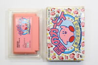Kirby's Adventure No Manual Boxed FC Nintendo Famicom NES Japan Import F2677