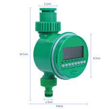 Electronic LCD Eau minuterie d'irrigation arroseur Contrôlor electrovanne Jardin