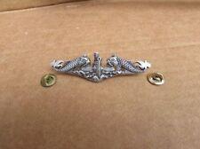 Vintage USA United States Military Navy Submarine Badge Pin