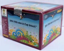 Panini World Cup 2014 Brazil - box with 100 packs - rare purple version display