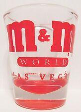 M & M'S World, Las Vegas Red Short Shot Glass