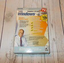 Video Professor Learn WINDOWS Complete 3-CD Set + 3 CD-Set Pre-Owned