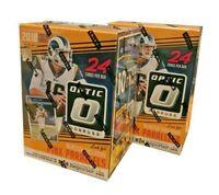 2 Box Lot 2018 Donruss Optic Football Blaster Box - Possible Lamar Jackson RC