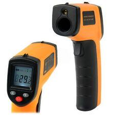 New Non-Contact LCD IR Digital Temperature Thermometer Gun Design Heat Data Use