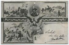 cartolina militare REGGIMENTO BERSAGLIERI