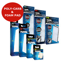 Fluval Aquarium Internal Filter Foam and Poly Carb Pack  U2, U3, U4