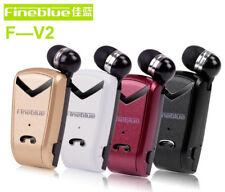 Auricolari Bluetooth Clip-on Collo Cuffie Auricolare Con cavo Retrattile Mini