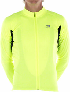 Bellwether Sol Air Jersey - Hi-Vis, Long Sleeve, Men's, Large