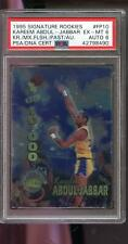 1995-96 Signature Rookies Kareem Abdul-Jabbar AUTO Autograph Card PSA 6 PSA/DNA