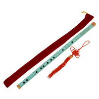 Traditional Chinese Bamboo Flute Dizi F Key Musical Instrument for Beginner Gift