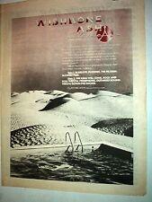 "WISHBONE ASH Classic Ash 1977 UK Poster size Press ADVERT 16x12"""
