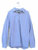 American Eagle Outfitters Mens 100% Cotton Long Sleeve Dress Shirt XL