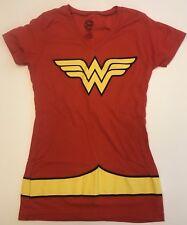 DC Comics Wonder Woman V Neck T Shirt Size Ladies Large