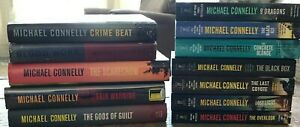Lot of 12, Michael Connelly Books HB and Trade PB – Three 1st Editions