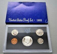 1968 Us Mint Proof Set