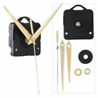 Quarz Wanduhr Uhrwerk Mechanik Reparatur DIY Teil Kit 10 Spin W1I7 mm B4Q2