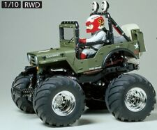 WILD WILLY 2000 Wheelie Kit WR-02 Chassis Stunt Military Jeep RC Tamiya 58242